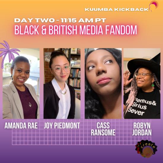 Black & British Media Fandom